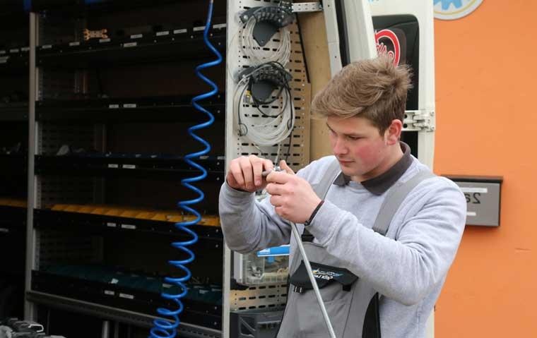 Mobiler Reparaturservice für hydraulische Anlagen