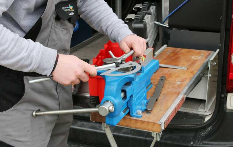 Hydraulik- und Fluidtechnik, Reparaturservice
