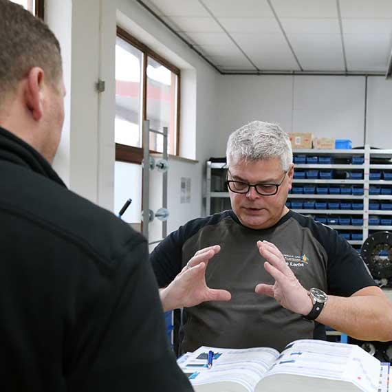 Uwe Lerbs – versierter Techniker im Bereich Hydraulikanlagen