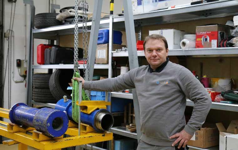 Wartung hydraulischer Anlagen in unserer Werkstatt
